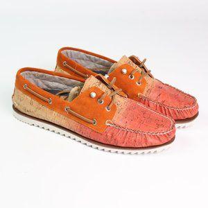 Sperry Razorfish Ombre Cork Boat Shoes